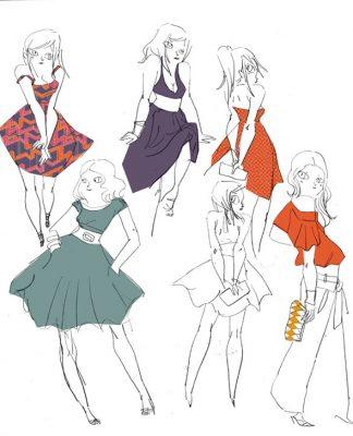 mode robe couleur