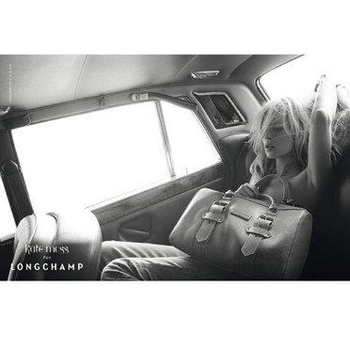 kate moss longchamp voiture