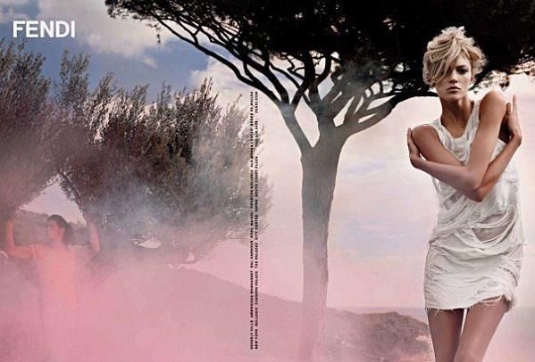 publicite fendi collection printemps ete 2010 sud