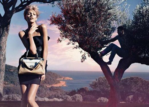publicite fendi collection printemps ete 2010 olivier