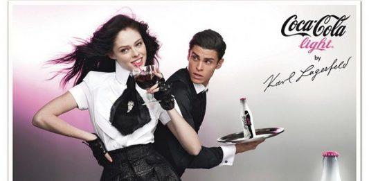 coca cola lagerfeld publicité