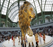 defile chanel lion 2010