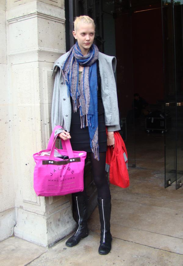 mannequin sac rose