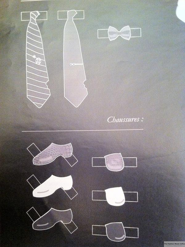 cravates et chaussures
