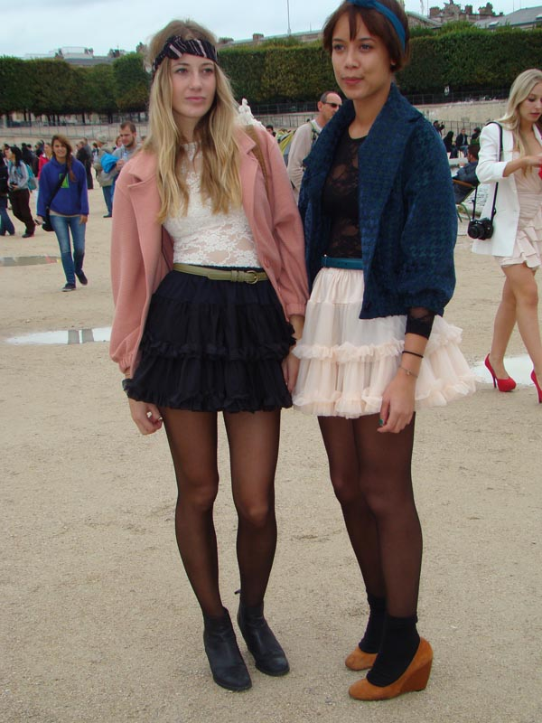 streetstyle deux copines