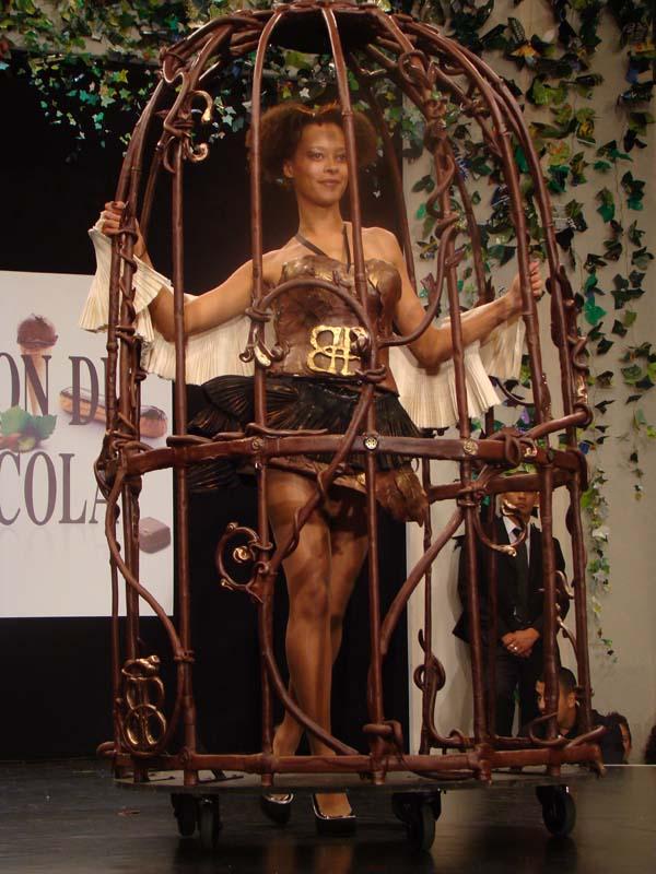 salon chocolat cage