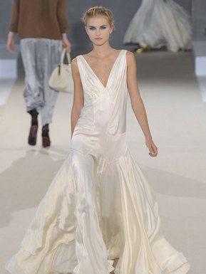 Rochas pap printemps ete 2011 robe blanche