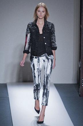 Balmain pantalon peinture