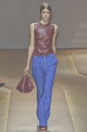 Celine pap pantalon bleu