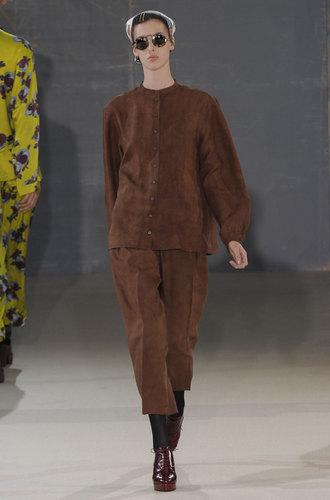 mannequin rochas marron