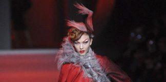 Dior haute couture printemps été 2011 rouge