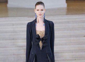 alexis mabille robe noir