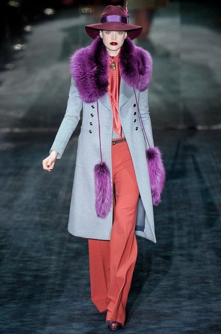 Gucci prêt à porter automne hiver gris