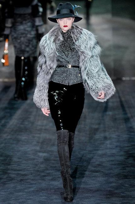 Gucci prêt à porter automne hiver noir