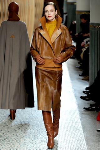 Hermès prêt à porter automne hiver 2011 2012 cuir
