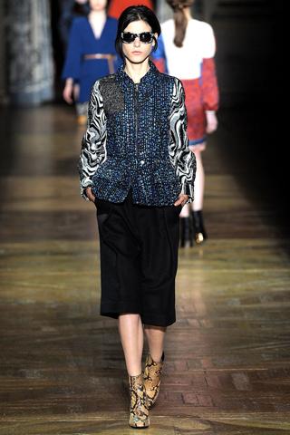 Dries Van Noten défilé fashion week