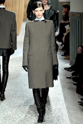 Hermès prêt à porter automne hiver 2011 2012 gris