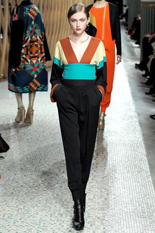 Hermès prêt à porter automne hiver 2011 2012 couleur