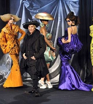 john galliano dior paris fashion week