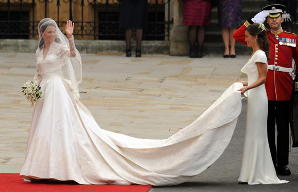kate middleton robe mariée