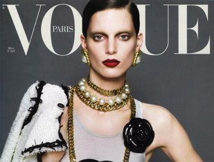 Couverture Vogue mars 2009