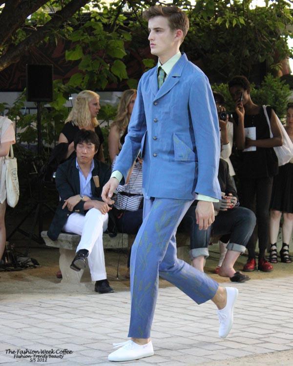 arnys-costume-bleu