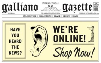 Galliano-store