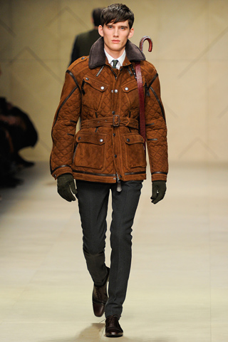 défilé burberry mode homme milan 2012-2013