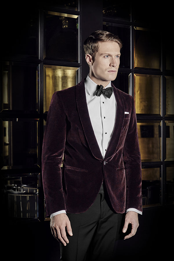 hackett-smoking-rouge-fonce