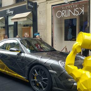 porsche-911-richard-orlinski-voiture